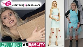 Trying £5 Clothing I Bought From Everything5pounds.com! *SHOCKING*