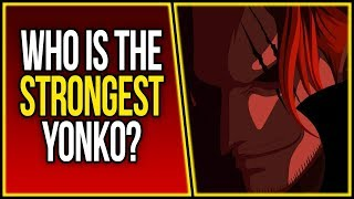 Who is the Strongest Yonko? | Shanks Vs. Kaido | ONE PIECE | ワンピース