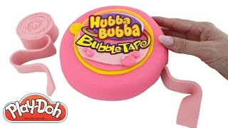 Play Doh How to Make a Giant Hubba Bubba with Play-Doh DIY RainbowLearning