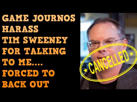 My Tim Sweeney Interview RUINED By Jealous Deplatforming Game