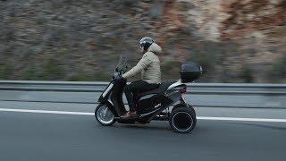 Le trois roues électrique d'Eccity Motocycles en vidéo