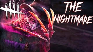 Dead By Daylight: Playing As FREDDY KRUEGER For The First Time (The Nightmare Gameplay)