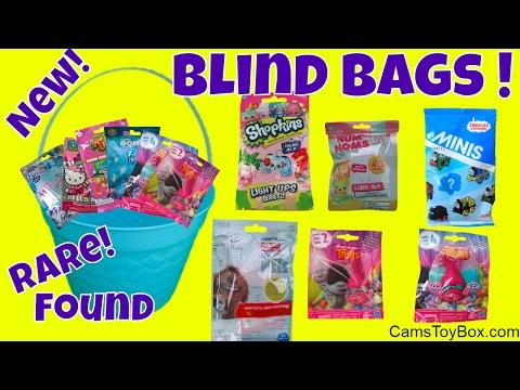 20 Blind Bags Opening Trolls Series 4 2 Animal Jam Shopkins Littlest pet Shop Thomas Minis RARE Disn