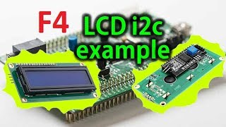 LCD 16x2 using I2C  STM32CubeMx and Keil 5 IDE - Controllers