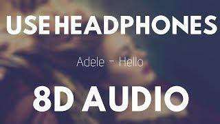 Adele - Hello (8D AUDIO)