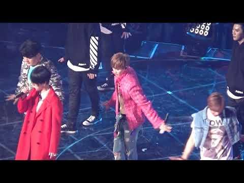 [Serenade_2H]171216 Super Junior SuperShow7 in Seoul SorrySorry & Mr.Simple & Bonamana EUNHYUK focus