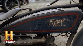American Pickers: Mike Aces a Deal for a Very Rare Ace Bike (Season 17) | History