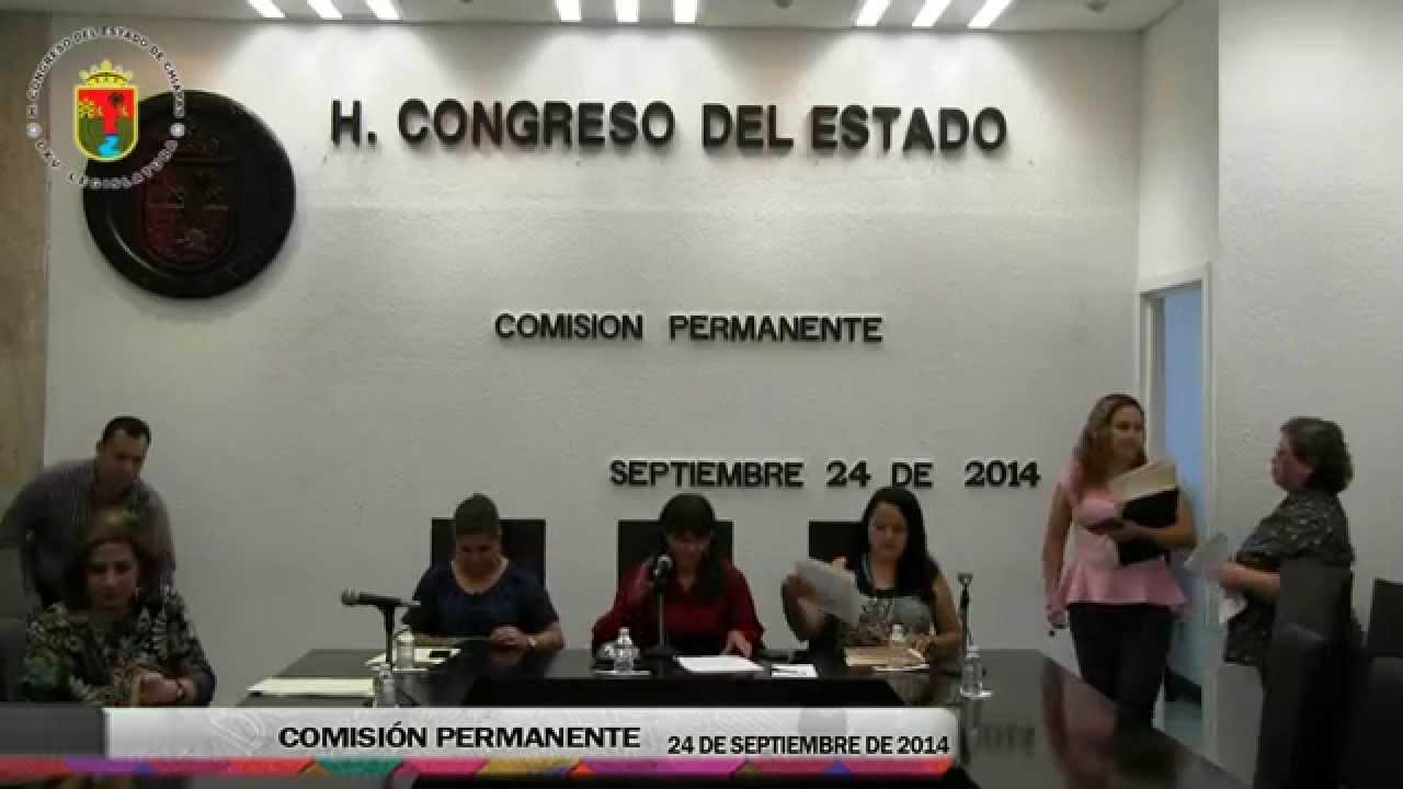 Comisión Permanente 24 de Septiembre de 2014