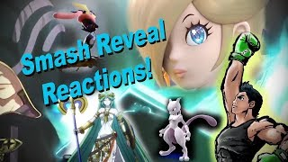 SNG Reactions: Previous Smash Reveal Trailers (Most of em)