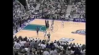 Rockets at Jazz - Game 5 - '97 Conference Finals - 5/27/97 (Highlights)