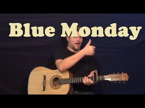 Baixar Blue Monday (New Order) Guitar Lesson Easy Strum Licks How to Play Tutorial