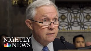 Attorney General Jeff Sessions Fires Back After President Donald Trump Criticism | NBC Nightly News
