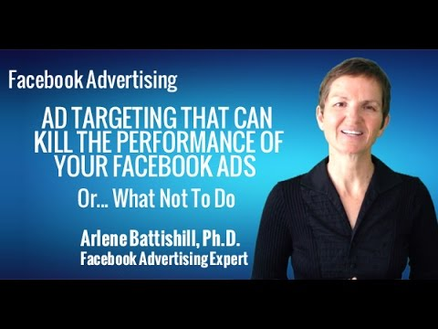 FACEBOOK ADVERTISING HOW THE WRONG AD TARGETING CAN KILL THE PERFORMANCE OF YOUR FACEBOOK ADS