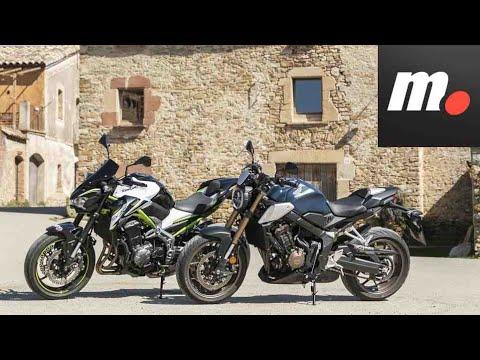 Comparativo Honda CB650R vs Kawasaki Z900 A2  / Prueba / Preview en español