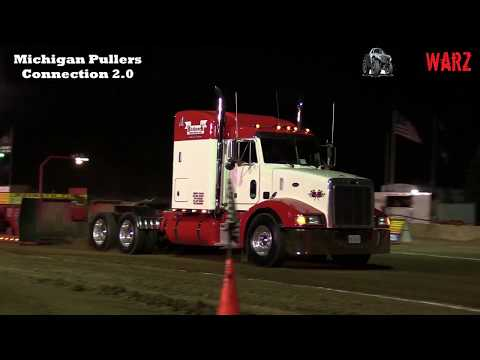 Local Street Semi Truck Class From TTPA Truck Pulls In Fowlerville Michigan 2018