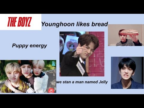 Younghoon being in his own world for 11 minutes | THE BOYZ 더보이즈