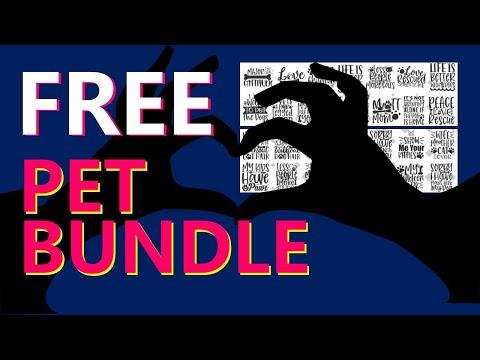 FREE Design BUNDLE ALERT – PETS!