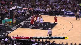 Houston Rockets vs San Antonio Spurs   Full Game Highlights   April 8, 2015   NBA 2014 15 Season 720