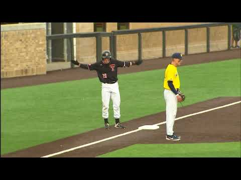 Texas Tech Baseball vs. Michigan: Highlights (W, 10-3)   2019