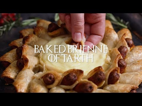 Game of Thrones Party Recipes | Baked Brienne of Tarth