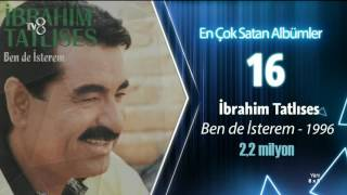 Türk müzik tarihinin en çok satan albümleri TARKAN | 8x8