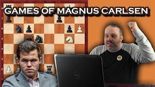 Best Games of Magnus Carlsen, with GM Ben Finegold