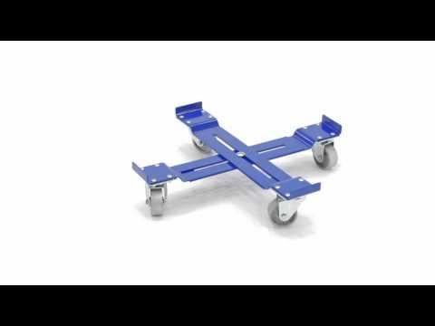 Adjustable Drum/Crate Dolly DRUM-X-C