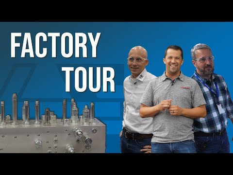 HydraForce Factory Tour Picture