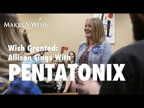Allison Sings with Pentatonix