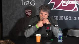 Mike Leach UW Postgame Nov. 25