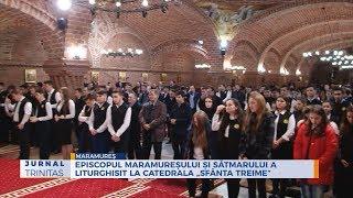 """Episcopul Maramuresului si Satmarului a liturghisit la Catedrala """"Sfanta Treime"""""""
