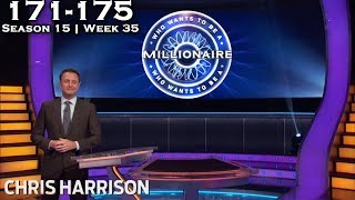 Who Wants To Be A Millionaire? #35 | Season 15 | Episode 171-175 (End of Season 15)