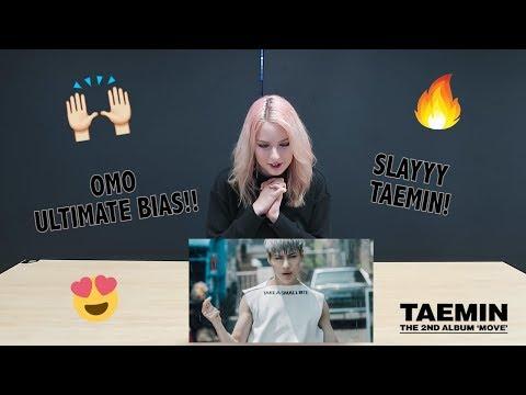 [MV REACTION] MOVE - TAEMIN | P4pero Dance (Brit)