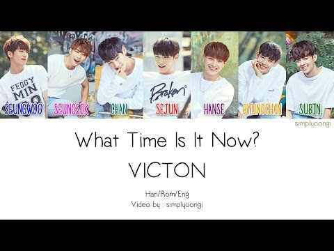 VICTON [빅톤] - What Time Is It Now? (Color Coded Lyrics | Han/Rom/Eng)