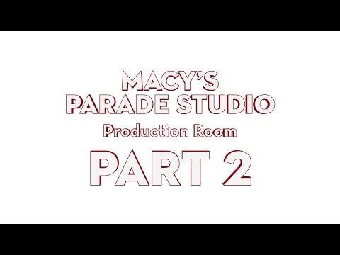 Macy's Parade Studio Tour (Part 2): The Production Room