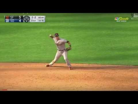 Joe Panik Defensive Highlights