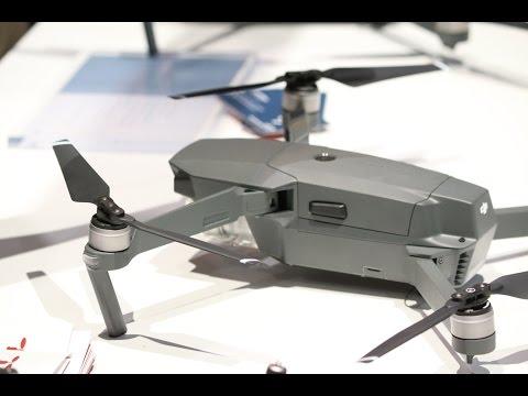 CES 2017 i Las Vegas: Sjekk ut DJI Mavic-dronen
