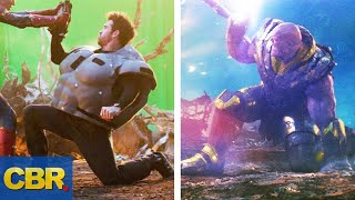 15 Avengers Endgame Scenes Before And After CGI