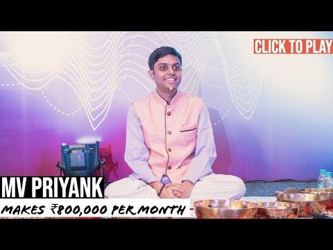 MV Priyank - Testimonial For Siddharth Rajsekar