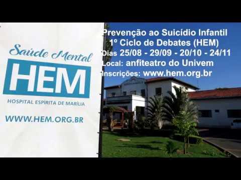 Prevenção ao suicídio: HEM promove Ciclo de Debates