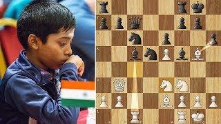 Praggnanandhaa Beats a 2700+ GM #iomchess