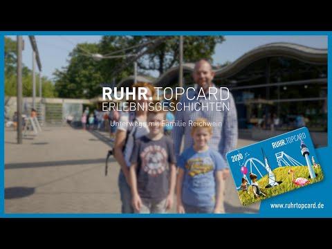 Familie Reichwein hat Familienspaß mit der RUHR.TOPCARD