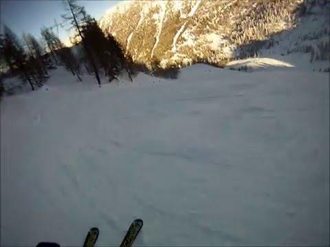 Piste da sci Pescegallo Valgerola: pista rossa L.Curtoni ex Rocca