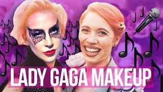 I'M GOING TO A LADY GAGA CONCERT! Lady Gaga Makeup Tutorial // Makeup Your Mood   HISSYFIT