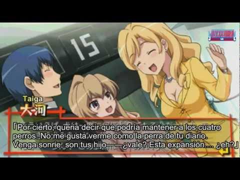 Toradora PSP final :Taiga embarazada (Sub Español)