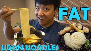 BEST UDON NOODLES! Udon Noodle Tour of Tokyo Japan!