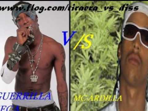 marihuana entre MC ardilla y rekeson (debate real)