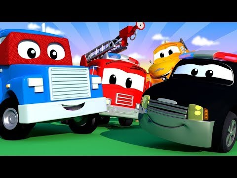 어린이를 위한 크리스마스 비디오 - 어린이를 위한 트럭 자동차 카툰 - 자동차 마을 크리스마스 영상 모음집 Live Stream