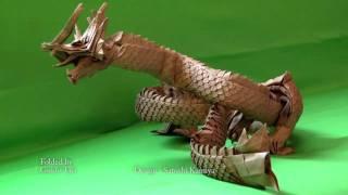 Folded Dragon, designed by Satoshi Kamiya