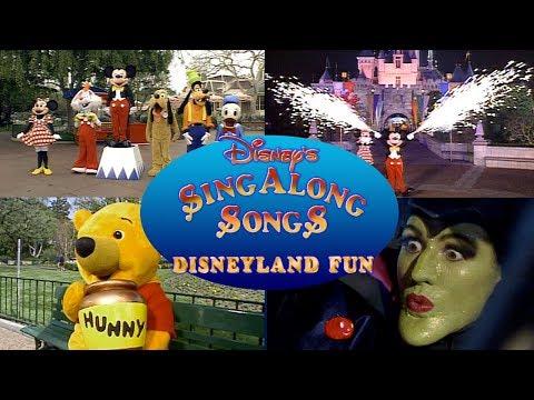 Sing Along Songs Let S Go To Disneyland Paris Uk Vhs 1996